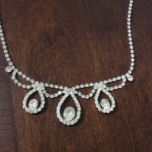 Vintage Necklace and matching earrings